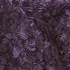 Plum Rosette Satin Drape Backdrop