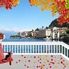 Leaves Landscape Fall Lake Como Lake Patio Italy