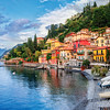 47709926 - town of menaggio on lake como, milan, italy