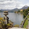 16138790 - fantastic landscape of lake como seen from garden of villa monastero, varenna, lombardy, italy, europe