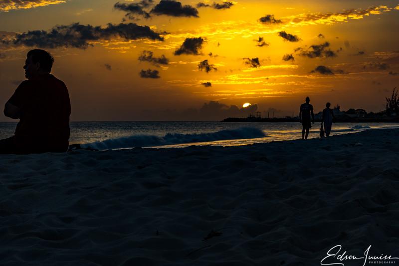 Sundown at Carlisle Bay Barbados 3