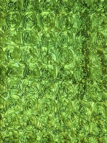 Lime Green Rosette Background