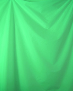 Drape Bright Green