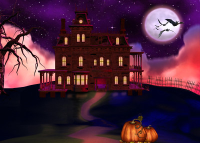 Halloween-CreepyHouse