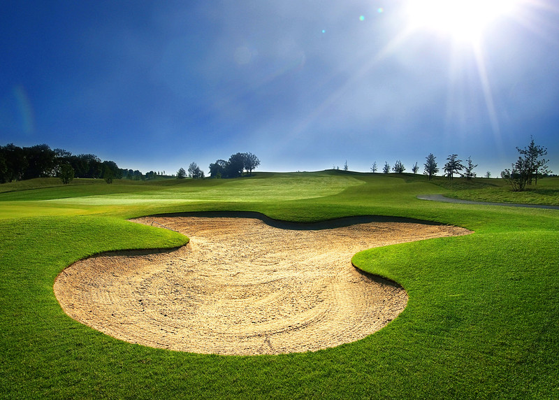 Field for playing golf