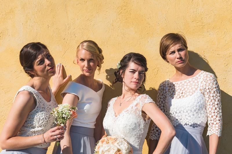 Bridal party summer shoot