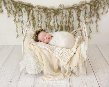 Large White Crib