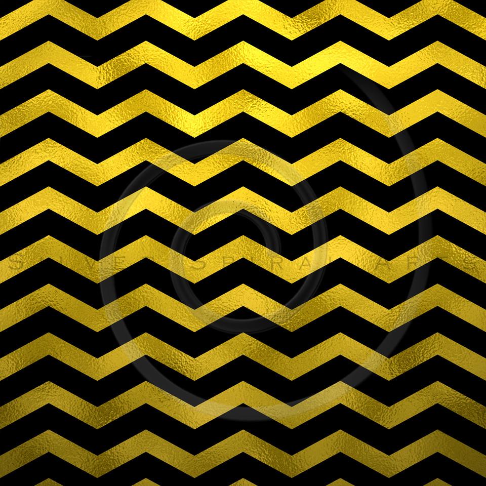 Faux Gold Foil Black Metallic Chevron Pattern Chevrons Texture Zig Zag Background