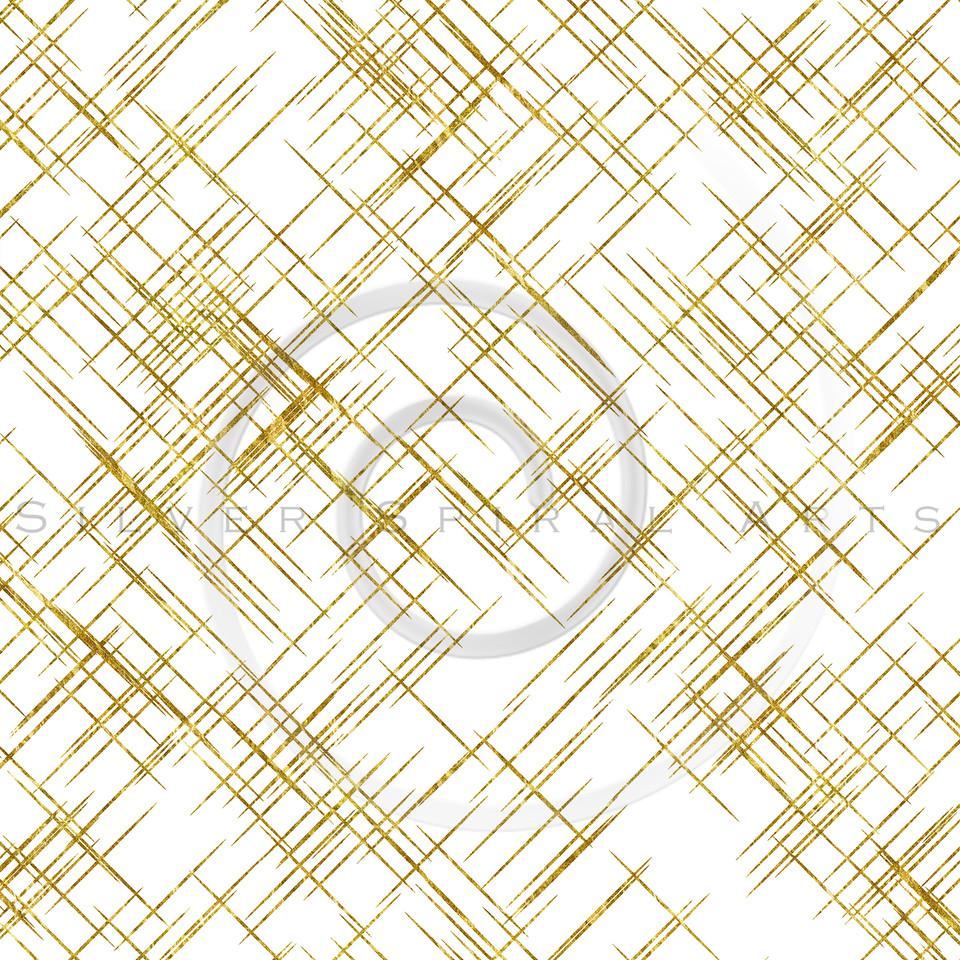Gold Diagonal Lines Faux Foil Metallic Background Pattern Texture