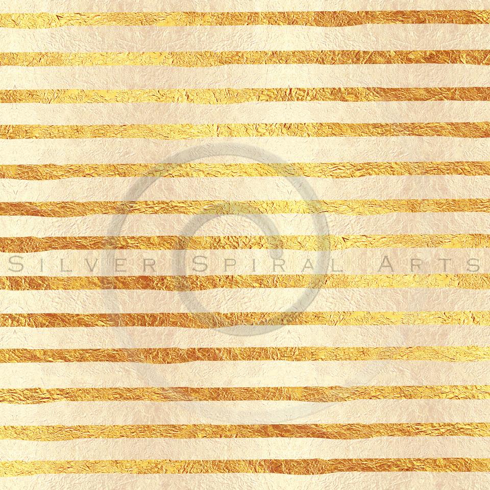 Faux Light Gold Foil Glitter Pattern