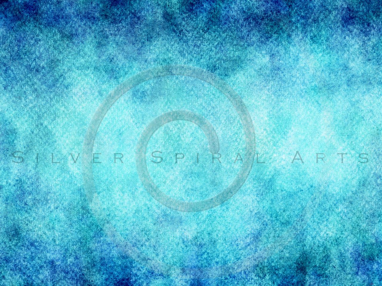Teal Aqua Blue Watercolor Texture Background