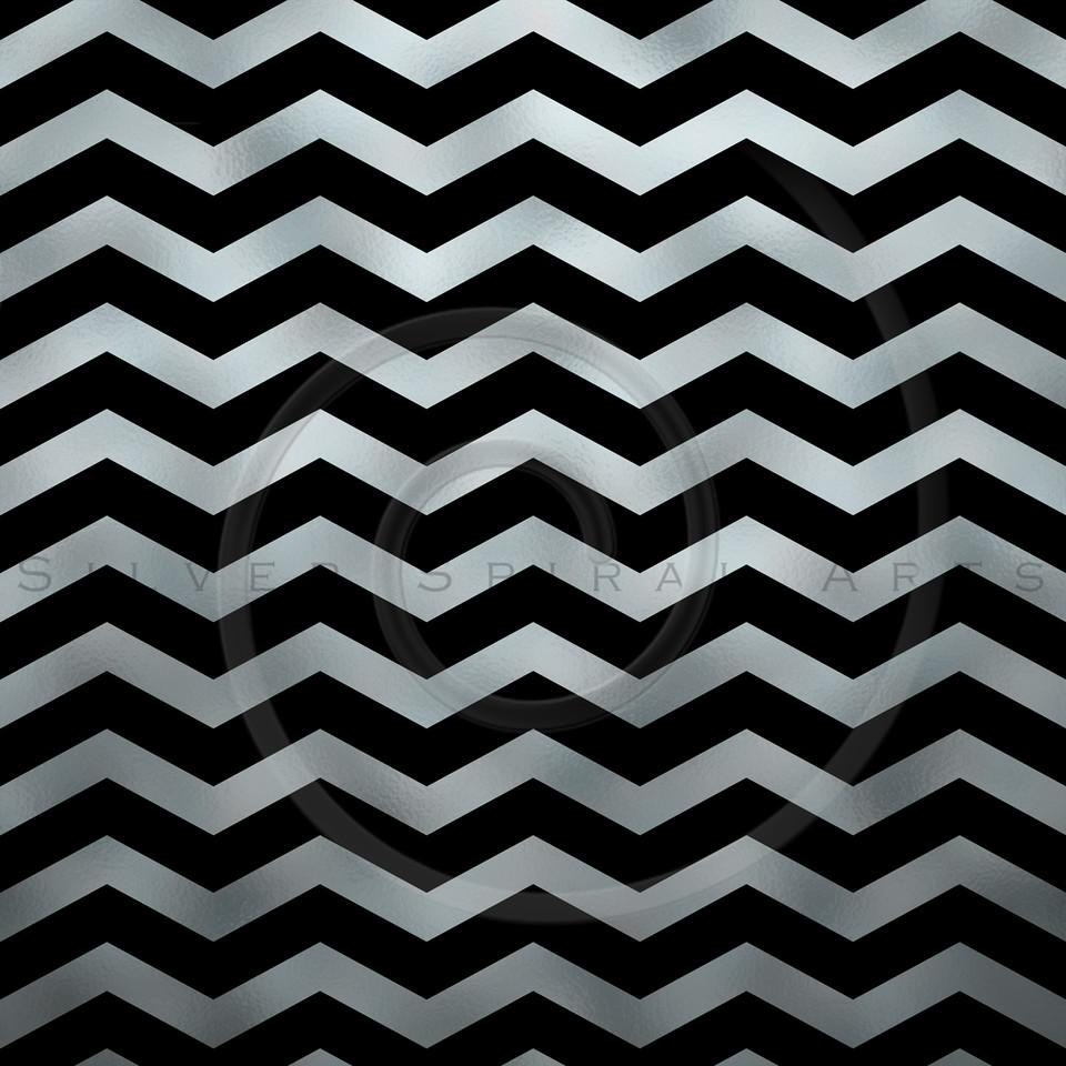 Silver Faux Foil Metallic Chevron Pattern Chevrons Texture Zig Zag Background