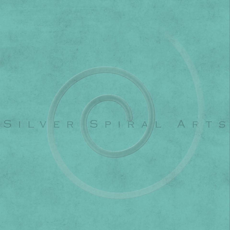 Vintage Aqua Blue Green Dusty Turquoise Buckskin Parchment Paper Background