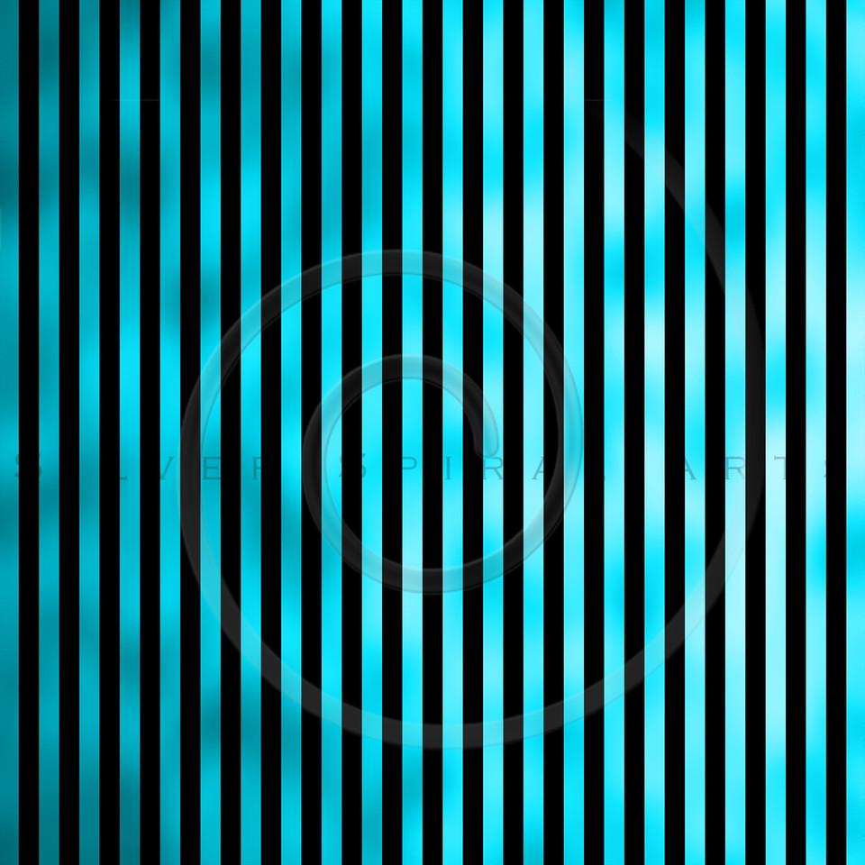 Teal Aqua Turqoise Blue Metallic Faux Vertical Foil Stripes Background Striped Texture