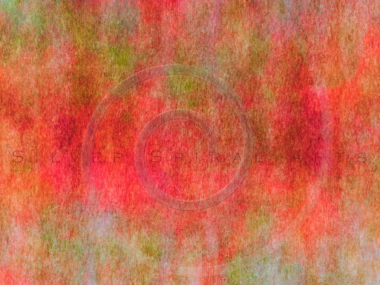 Pink Orange Green Watercolor Paper Texture Background