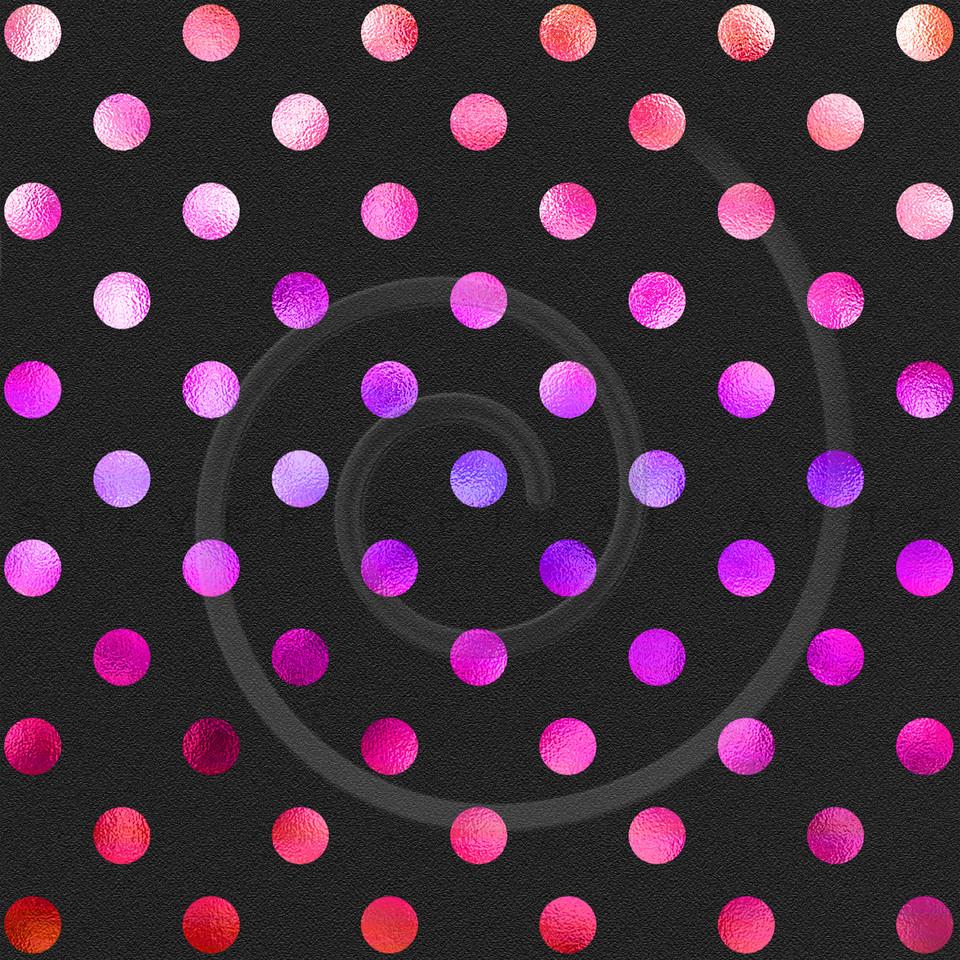 Red Pink Purple Peach Polka Dot Pattern Swiss Dots Texture Digital Paper