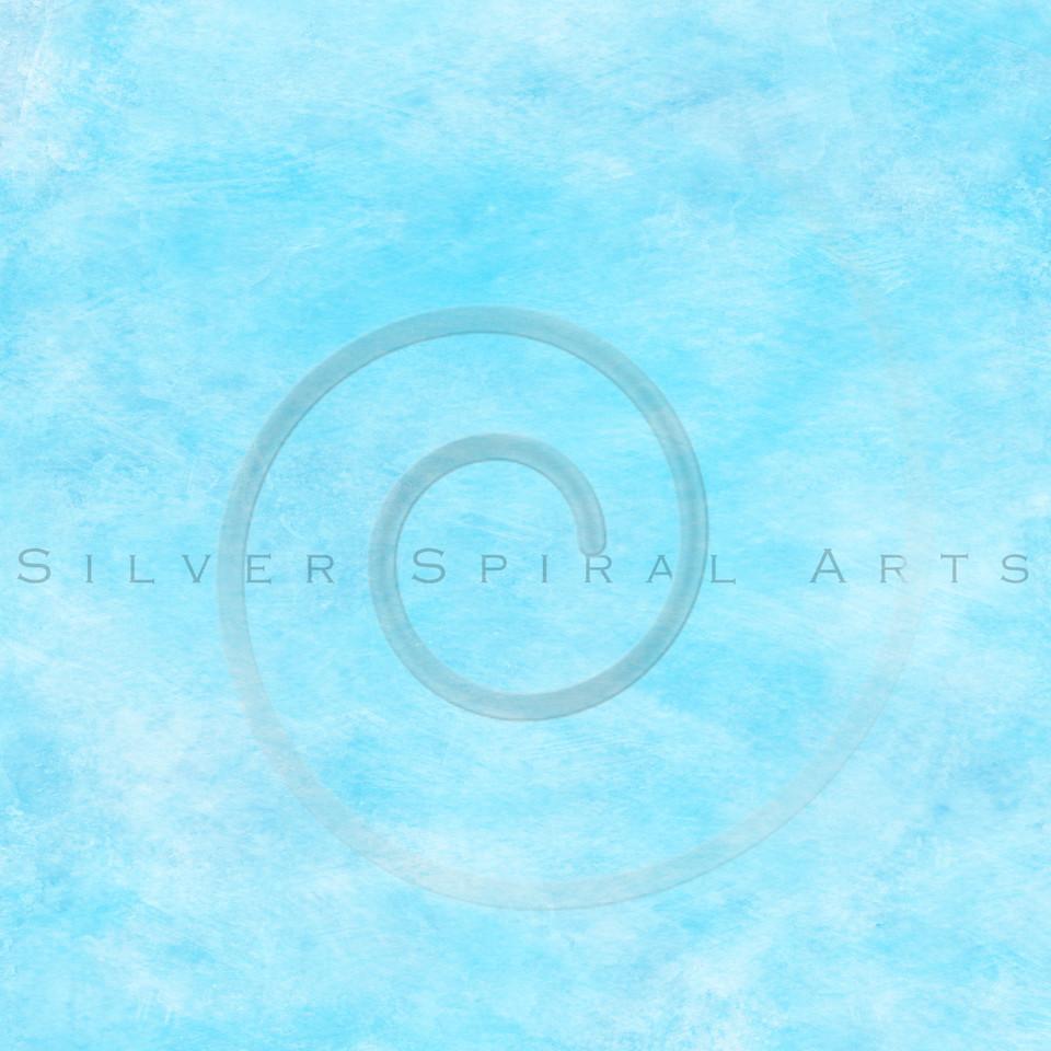 Light Aqua Water Blue Watercolor Paper Texture Background