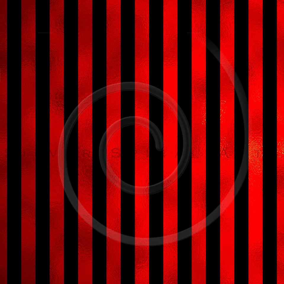 Red Black Vertical Metallic Faux Foil Stripes Background Striped Texture