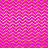 Gold Faux Foil Chevrons Metallic Hot Pink Magenta Background Chevron Pattern