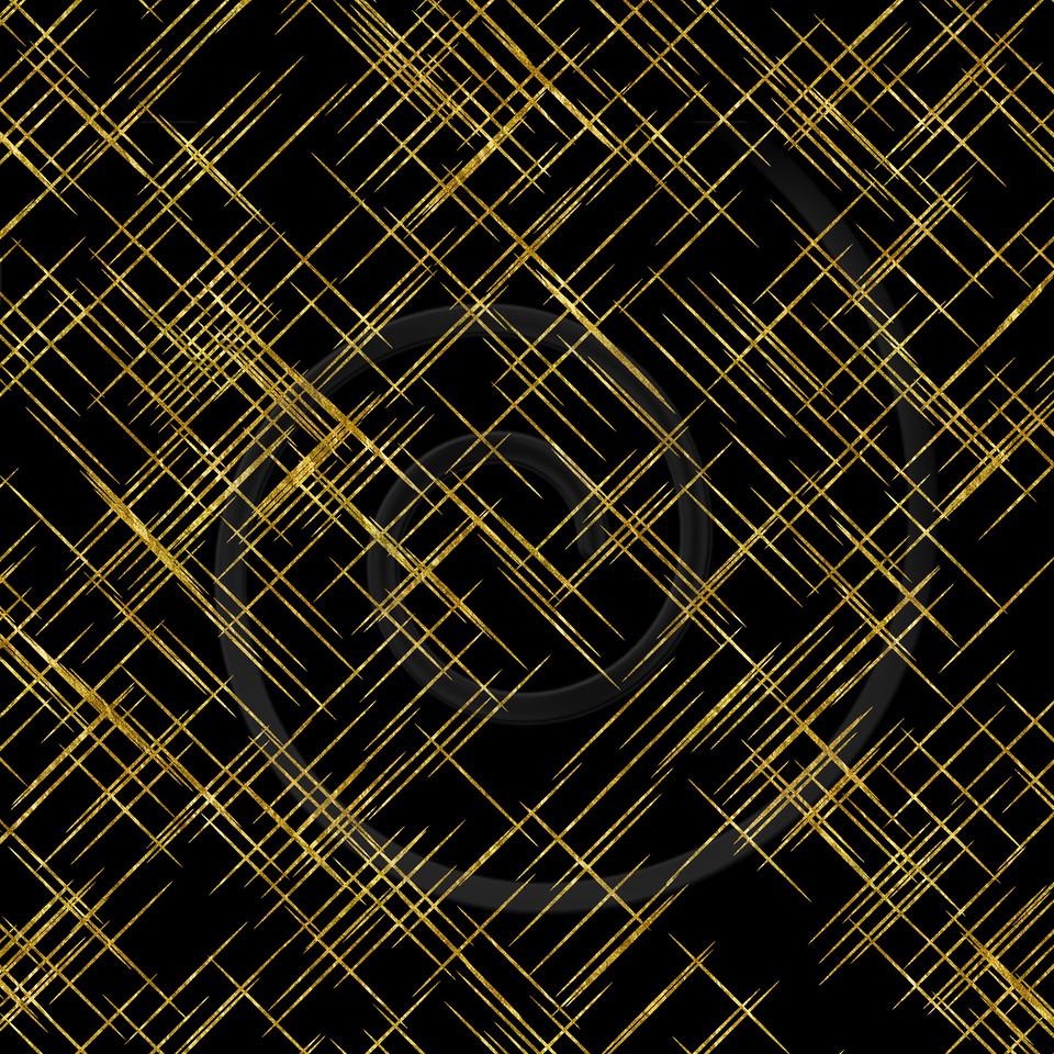 Gold Lines Faux Foil Metallic Background Pattern Texture