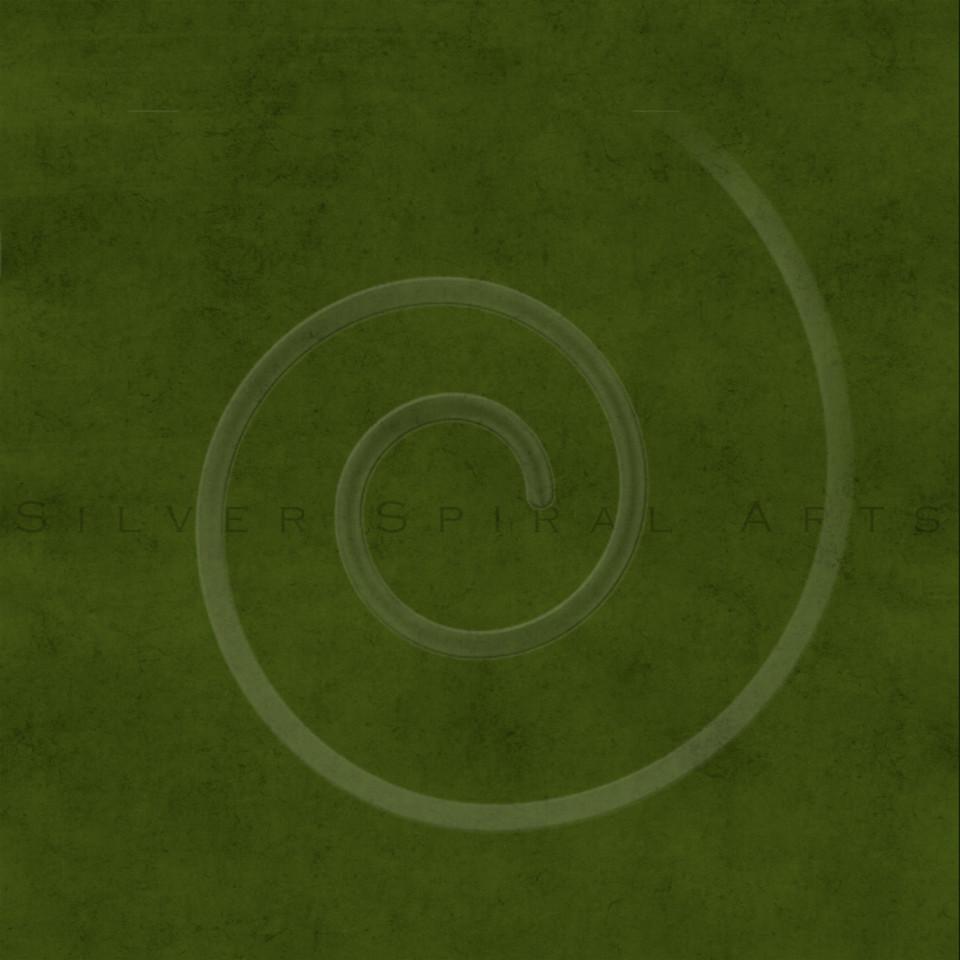 Vintage Olive Green Buckskin Parchment Paper Background