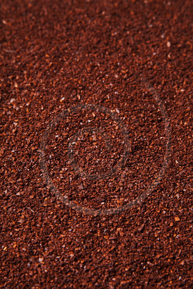 coffee grounds background
