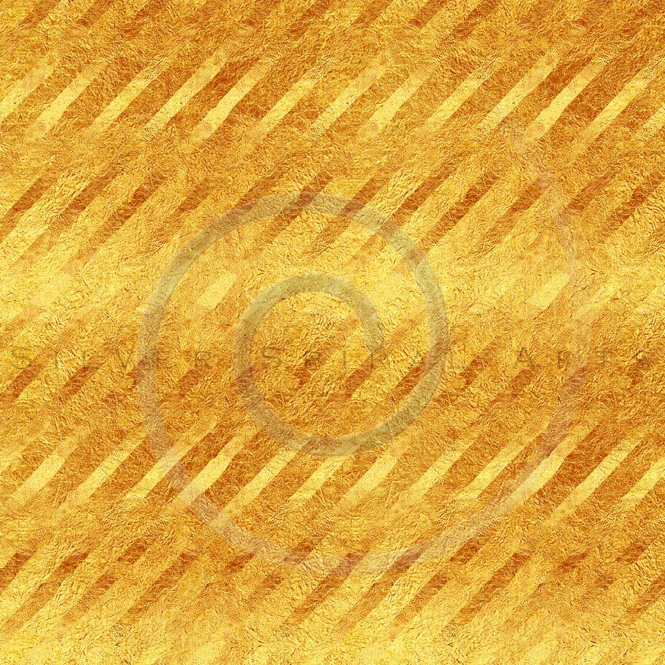 Faux Gold Foil Stripes Glitter Pattern