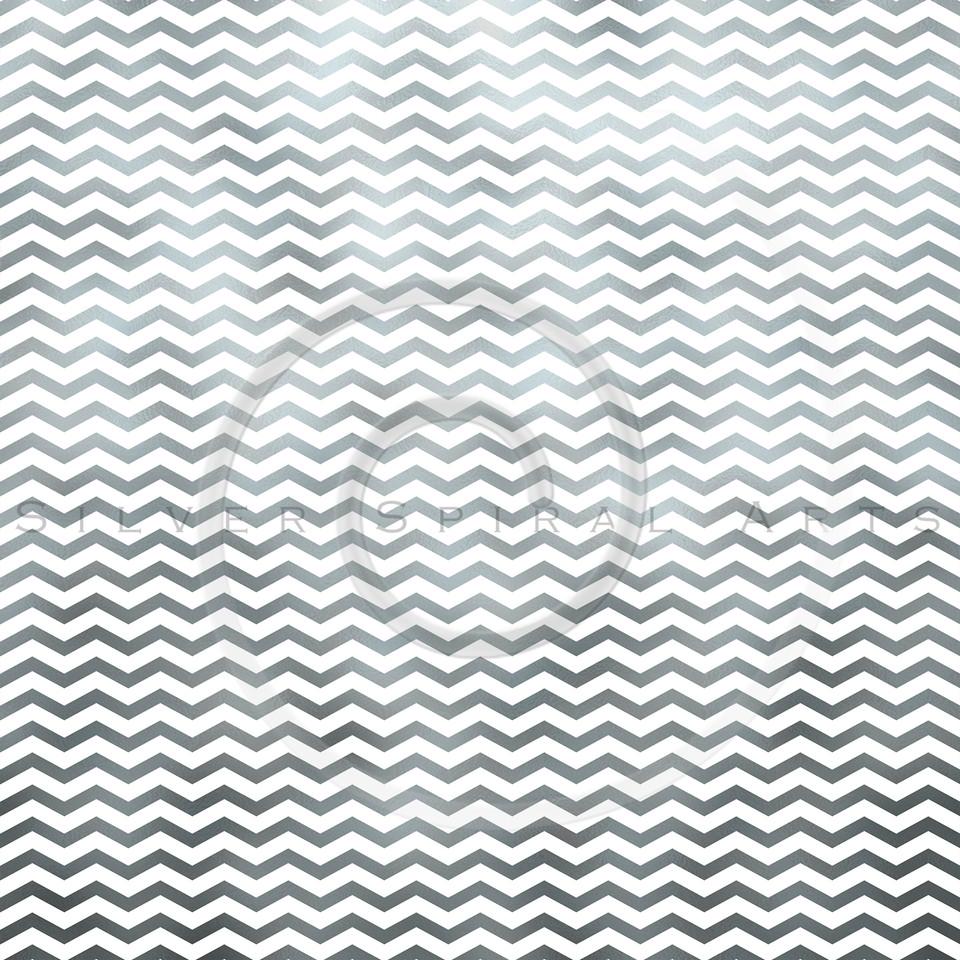 Silver White Metallic Faux Foil Chevron Pattern Chevrons Texture Zig Zag Background