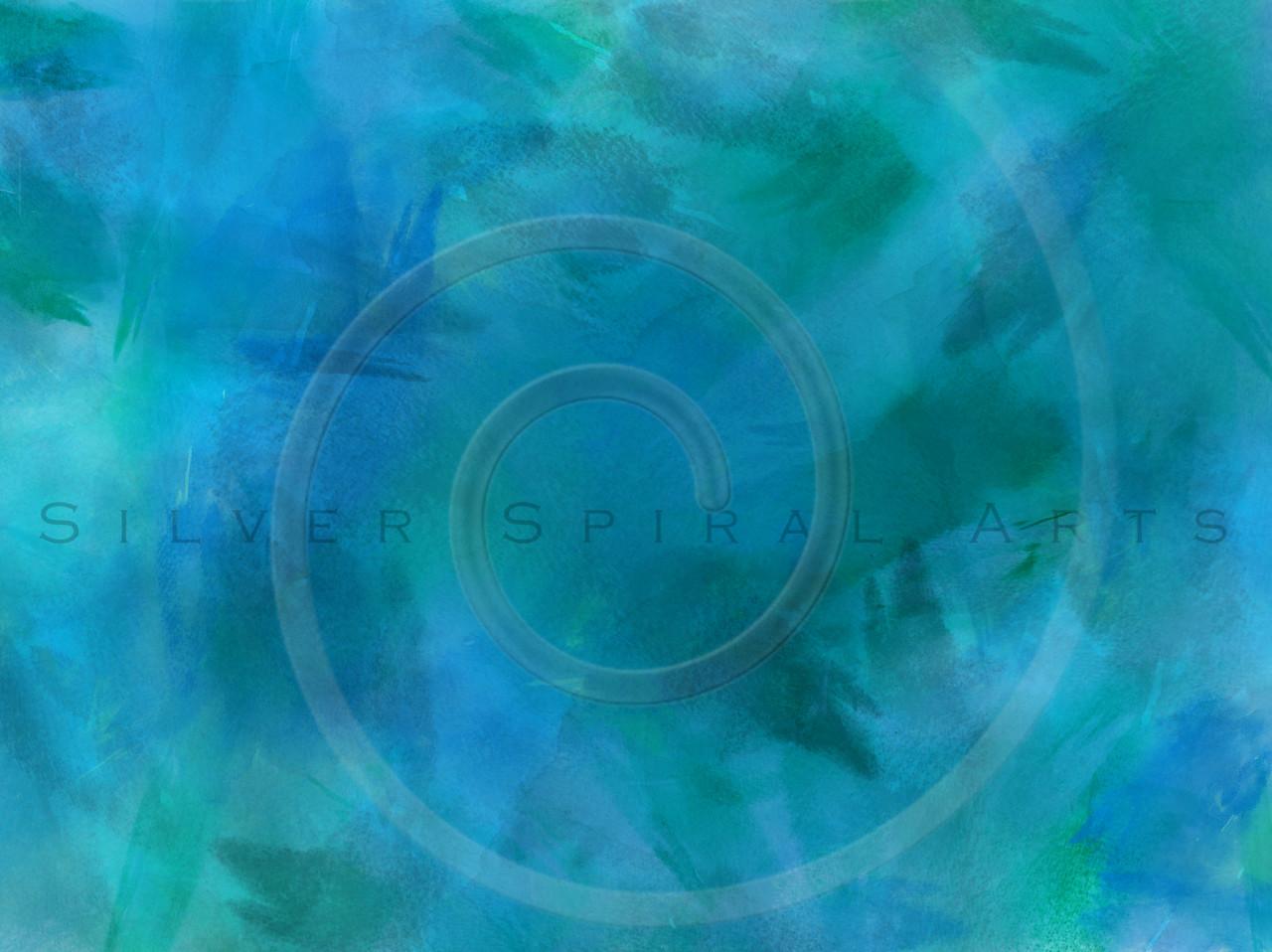 Purple Aqua Teal Turquoise Blue Watercolor Paper Texture Background