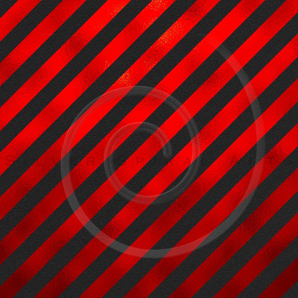 Red Black Metallic Faux Foil Stripes Background Striped Texture