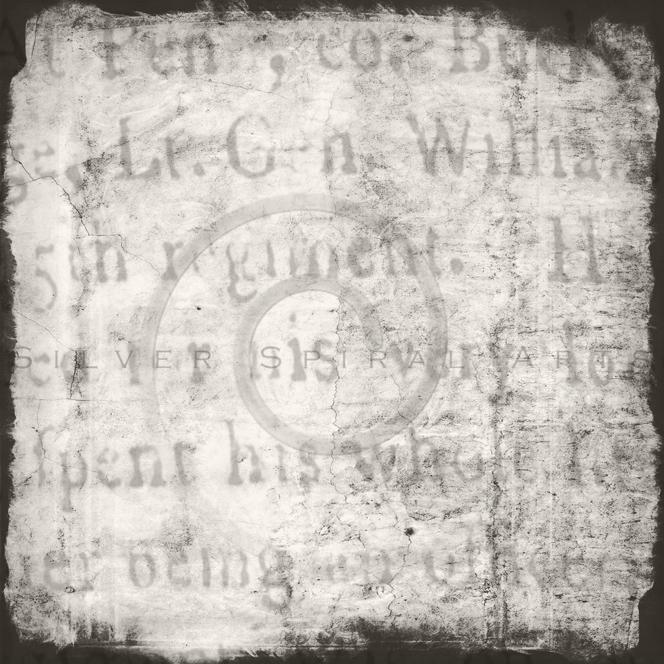 Vintage Parchment with Text Textured Background