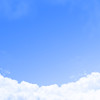 Clouds with open space for copy