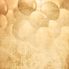 Old paper texture with integrated balloons