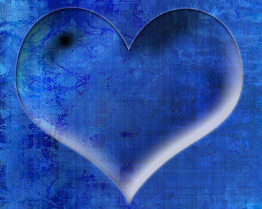 Heart shaped water drop