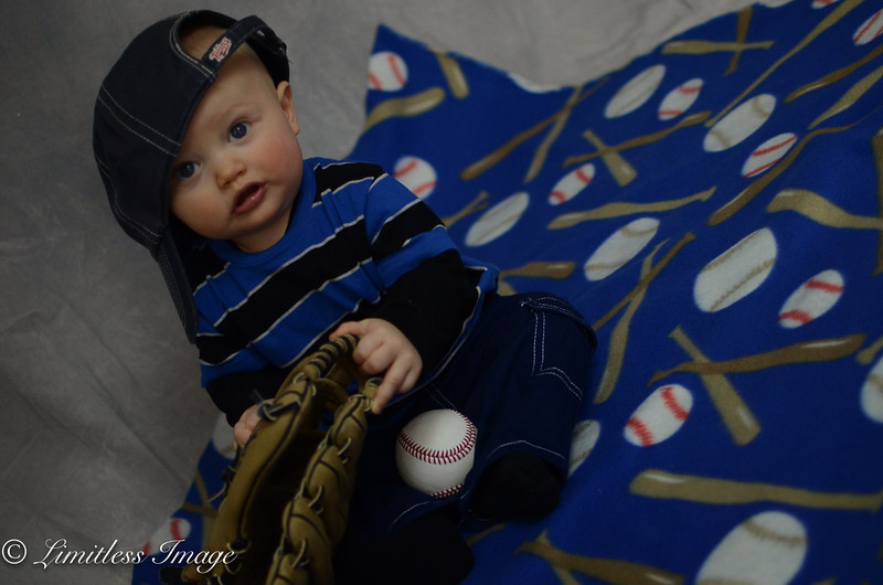 Baseball mat - Great for children's photos!