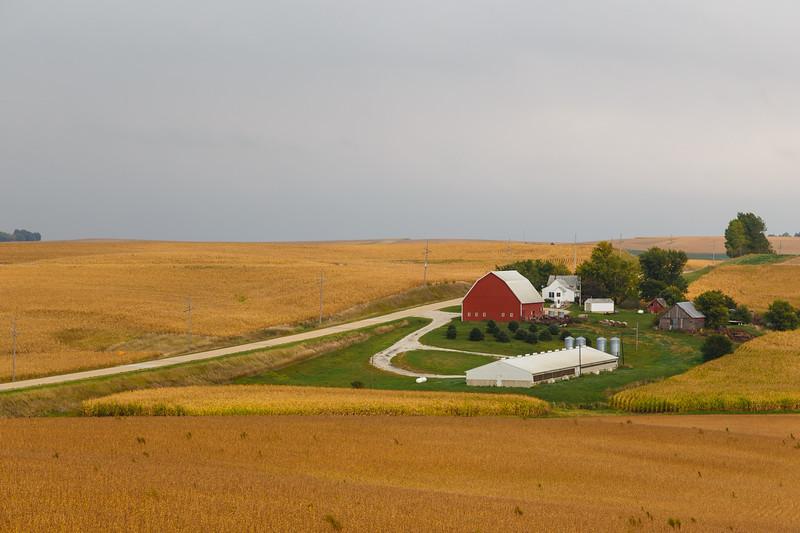 The simple but beautiful Iowa landscape