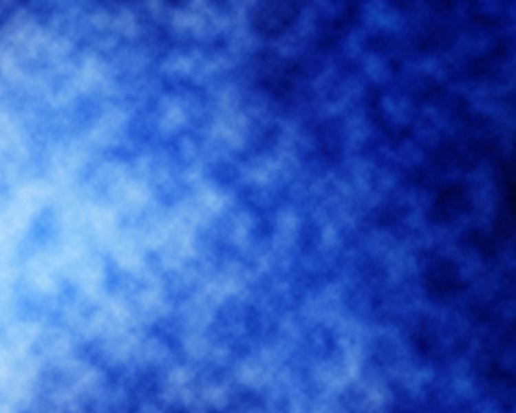 Blue fibre optics