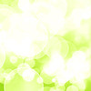 Green fresh background with bokeh effect