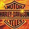 Motorcycle Harley-Davidson-Fire