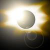 Golden eclipse