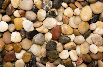 Colorful rocks.