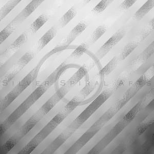 Silver Gray Metallic Grey Foil Stripes Background Striped Texture