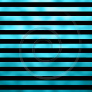 Teal Aqua Turqoise Blue Metallic Faux Foil Horizontal Stripes Background Striped Texture