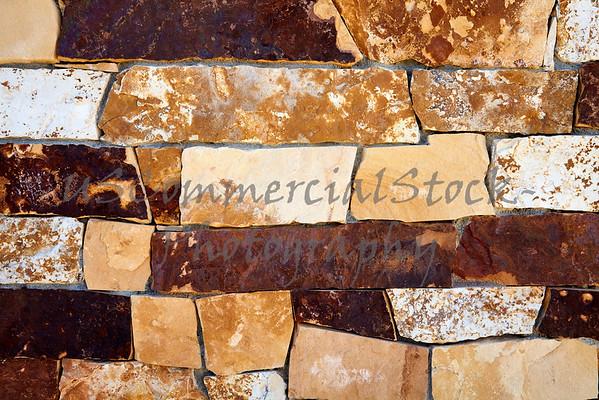 Stone Natural cobblestone wall closeup
