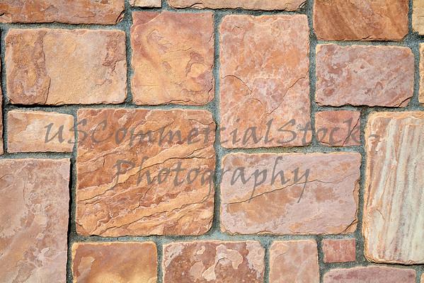 Stone Natural cobblestone castle rock wall closeup