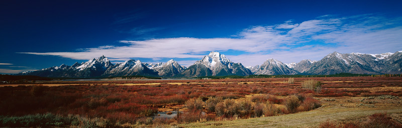 Grand Teton and Antelope Flats
