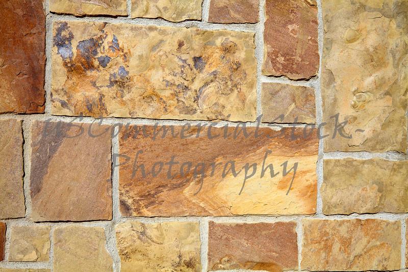 Stone Natural cobble castle sandstone wall closeup