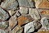 Stone Veneer Natural granite rock irregular shapes closeup