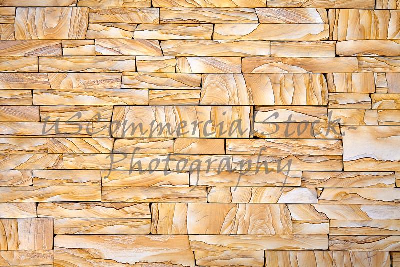 Stone Natural Veneer wall gold cliff ledge closeup detail
