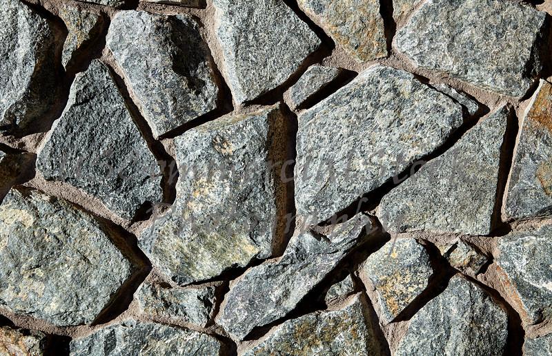 Stone Veneer Natural granite rock detail closeup